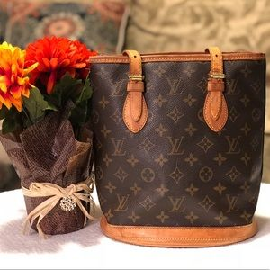 Louis Vuitton Hand Buckett Bag